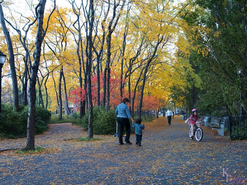 DSC_5131 Battery Park City on a fall morning