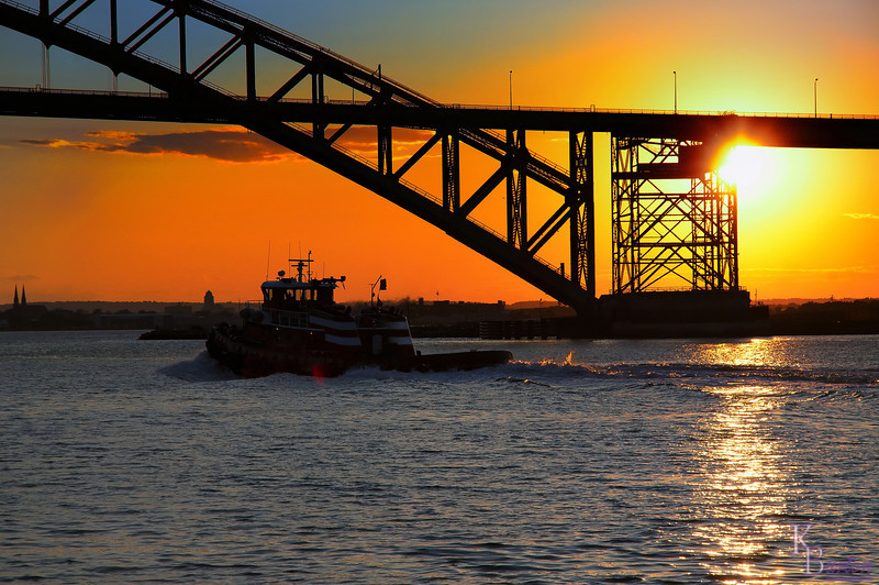 DSC_4938 sunset at the Bayonne bridge