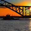 DSC_4938 sunset at the Bayonne bridge
