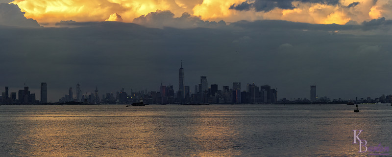 DSC_5110 Manhattan skyline sunset pano