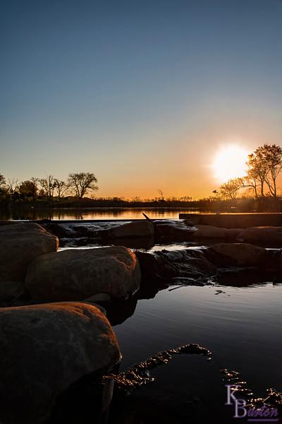 DSC_6430 sunrise at Wolfe's pond