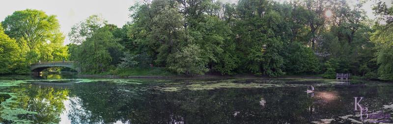 Lullwater lake pano
