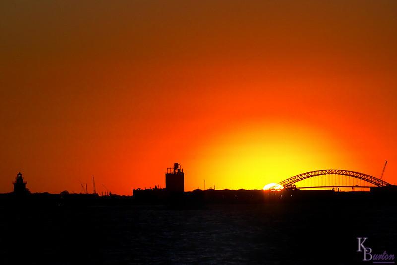 DSC_5468 sunset over NY bay