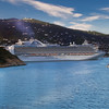 dscf_0320 The Crown Princess pulls out from St Thomas