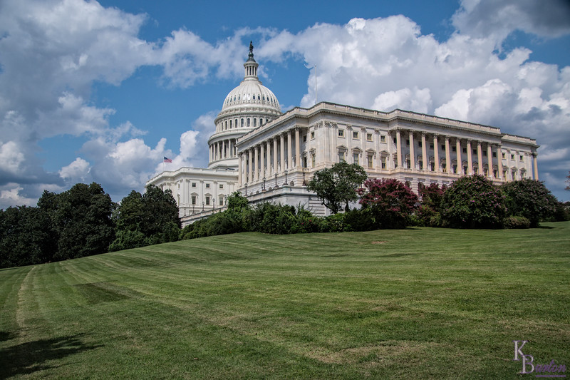 As Curtis and I walked towards all the famous monuments in our nations capitol, we past by Capital Hill, so I briefly stopped and took a few photo's. It's even more impressive in person.
