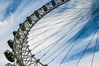 Capsules of the London Eye