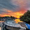 Sunset over Devonshire Bay - HDR