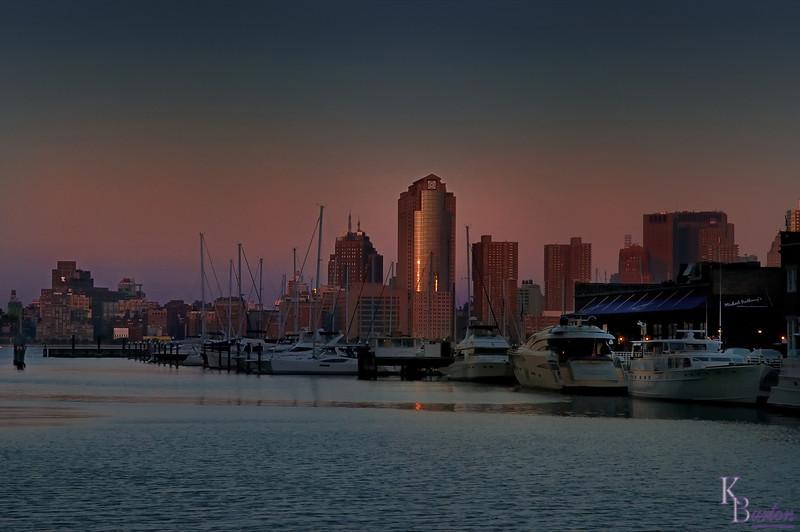 DSC_6627 Jersey City marina at dusk