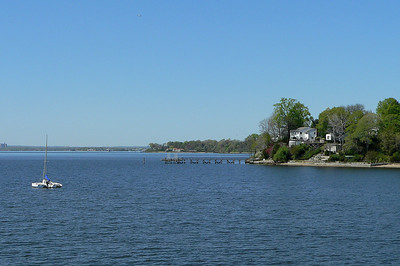 Little Neck Bay, looking North from Douglaston.
