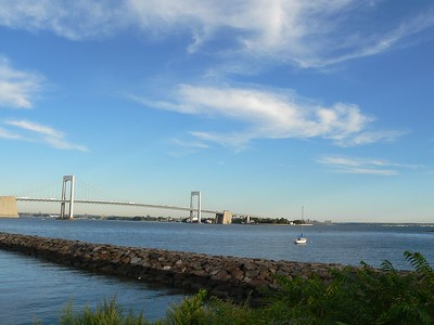 Throgs Neck Bridge, Long Island to the Bronx, NY.