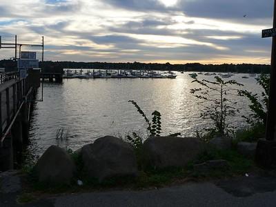 Dawn.  Bayside marina. Queens NY.