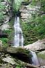 Buttermilk Falls. Near roadside on Peekamoose Rd in the Southern Catskills in Ulster County, NY.