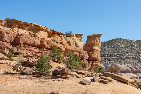 Along 191 South of Moab