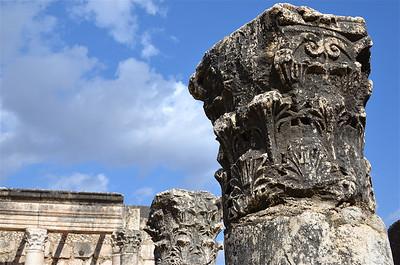 Synagogue Ruins, Capernaum.