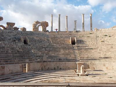 Roman Theater at Leptis Magna