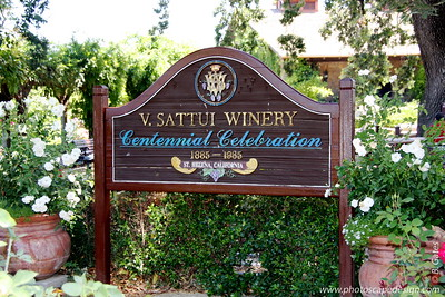 V. Sattui Winery - St. Helena, California  V. Sattui is a family-owned winery established in 1885.  It was originally founded in San Francisco by Vittorio Sattui and was re-established in St. Helena in 1975 by great-grandson Dario Sattui.  V. Sattui has no outside distribution.  Their wines are sold exclusively at the winery, by mail order, and from the website direct to their customers.  V. Sattui is also the only winery in Napa Valley with its own extensive in-house deli.
