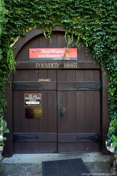 V. Sattui Winery - St. Helena, California [D]