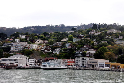 View of Sausalito from the Ferry
