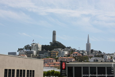Coit Tower from Pier 39