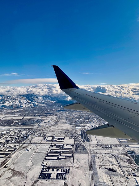 Arriving in SLC - plane change