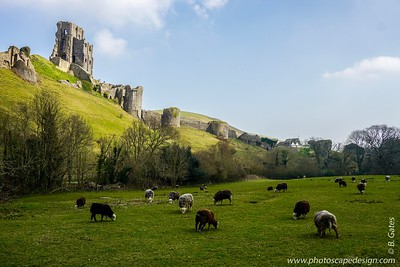 Corfe Castle - England