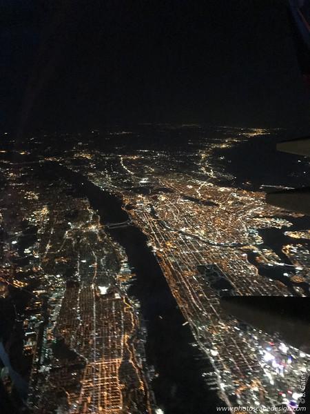 Leaving New York City for London