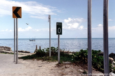 "Mile Marker ""0"" - Key West, Florida (2001)"