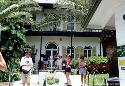Ernest Hemingway's Home  - Key West, Florida (2001)