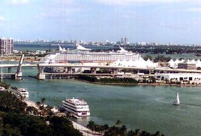 Ship at Port - Miami, Florida (1999-2000)