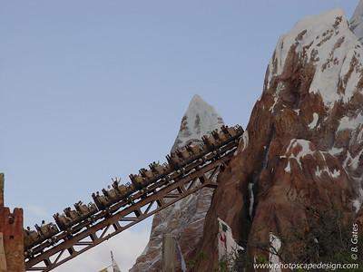 Disney World - Animal Kingdom - Mt. Everest (April 11, 2006)
