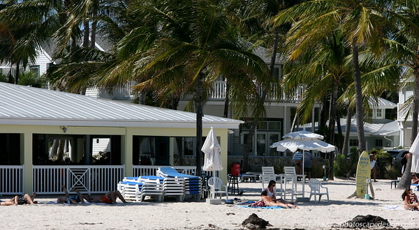 Southernmost Beach Cafe & Bar, which is on the beach in front of the Dewey House and La Mer - Key West (June 4, 2008)