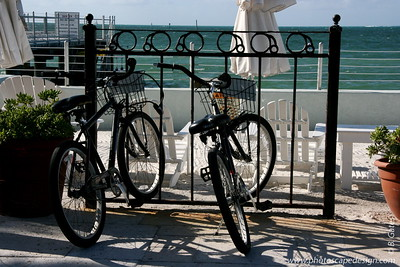 Bicycles parked at the Southernmost Hotel - Key West (June 5, 2008)