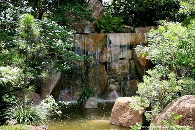 The Morikami Japanese Gardens - Delray Beach (May 31, 2008)  Morikami Falls