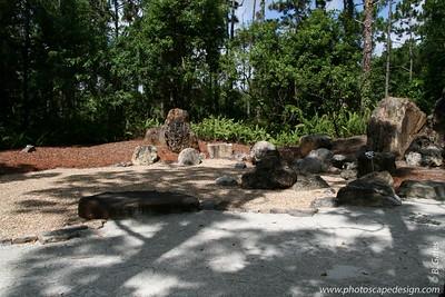 The Morikami Japanese Gardens - Delray Beach (May 31, 2008) [D]  Early Rock Garden (Early Muromachi period, 14th Century)