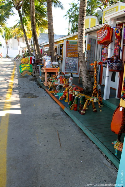 Lazy Way Shoppes  This quaint little shopping area is located on Elizabeth Street near the Key West Historic Seaport.