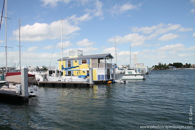 Houseboats at Garrison Bight - Historic Charterboat Row