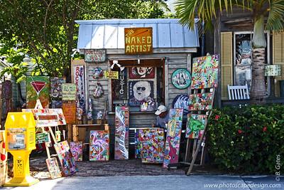 The Naked Artist on Caroline Street [D]