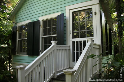 """Cottage Rental in the Secret Garden  Studio/kitchen with bath for two people offered by environmental educator and artist Nancy Forrester in a historic cottage in the heart of old town, one block from Duval Street.  For travelers who are concerned about reducing their carbon footprint, your stay supports Nancy's cause, the preservation of the last wooded acre of land in high density """"old town"""" Key West. [This information was taken directly from  Nancy Forrester's Secret Garden website.]"""