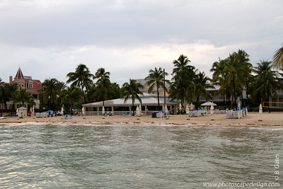 Southernmost Beach Cafe [right] and Casa Cayo Hueso [left]