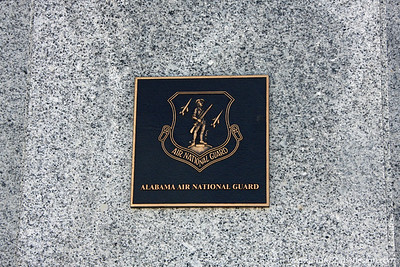 One of Four Plaques on the Monument  In 1961, members of the Alabama Air National Guard (ANG) secretly took part in the Bay of Pigs invasion. Approximately 60 members of the Alabama Guard were involved, including four pilots and four enlisted crewmembers who flew four bombers (two per bomber) to support the invasion by U.S.-backed Cuban exiles. These eight Alabama guardsmen flew combat missions on the last day when the Cuban pilots were exhausted. [D]
