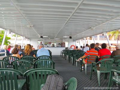 Inside the Island Queen