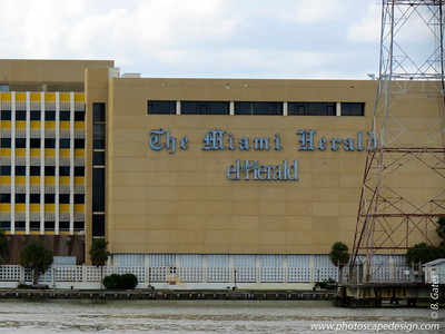 The Miami Herald   The Miami Herald is a daily newspaper owned by The McClatchy Company headquartered on Biscayne Bay in the Omni district of Downtown Miami. Founded in 1903, it is the largest newspaper in South Florida, serving Miami-Dade, Broward County and Monroe County, and circulates throughout Latin America and the Caribbean.  The first edition was published September 15, 1903, as The Miami Evening Record. After the recession of 1907, the newspaper had severe financial difficulties. Its largest creditor was Henry Flagler. Through Frank B. Shutts as its publisher, who was also the founder of Shutts & Bowen, Mr. Flagler acquired the paper and renamed it The Miami Herald on December 1, 1910. Although it is the longest continuously published newspaper in Miami, the earliest newspaper in the region was The Tropical Sun, established in 1891.   The Miami Herald is on the move – and starting in May 2013, the new headquarters will be located at 3511 NW 91 Avenue, on the 15-acre site that was formerly home to the U.S. Southern Command.