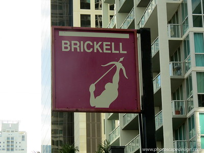 Brickell Avenue  One of many photos taken while driving by.