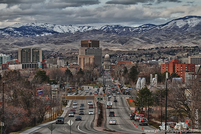View from the Boise Train Depot (HDR) (2011)
