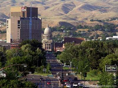 View from the Boise Train Depot (Boise 2005)