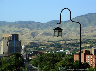 View from the Boise Train Depot - Boise, Idaho (2005)