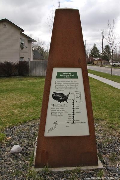 Oregon Trail in Boise