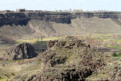 Canyon Springs Golf Course in Snake River Canyon - Twin Falls