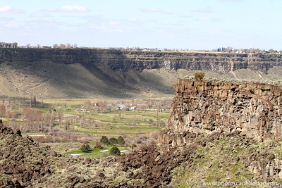 Canyon Springs Golf Course in Snake River Canyon - Twin Falls  Canyon Springs is one of the finest public courses in Southern Idaho. Located in the majestic Snake River Canyon near Twin Falls, Idaho, Canyon Springs challenges players of all skill levels in a setting that rivals the best resort courses of the West.