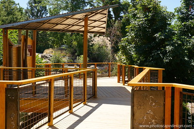 Idaho Botanical Garden - Treehouse Platforms